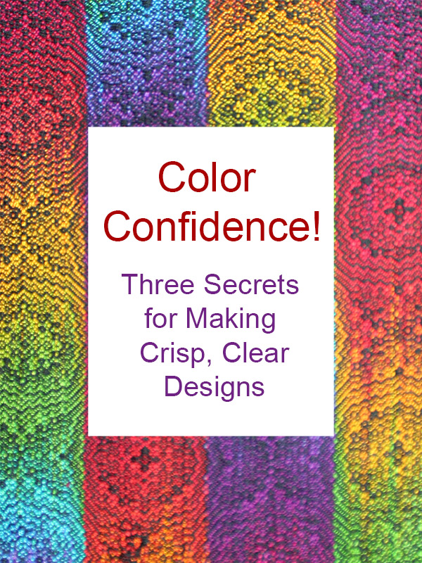 Using Colour With Confidence: Warp & Weave