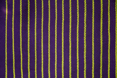 handwoven fabric samples in purple and green - purple to green ratio of 4:1