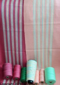 Project analysis: Mood in fabric, using variegated yarns