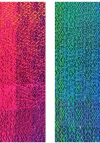 warm vs cool high-saturation swatches