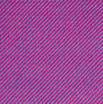 1/3 twill - turquoise warp, magenta weft
