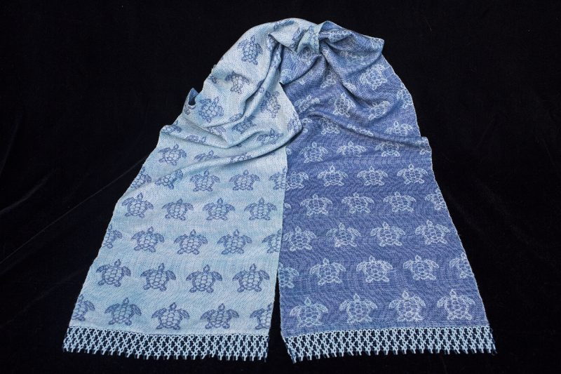 "Photo of my ""Under the Sea"" scarf"
