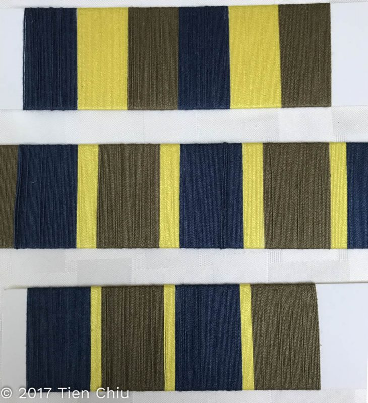 card wraps with various proportions of stripes