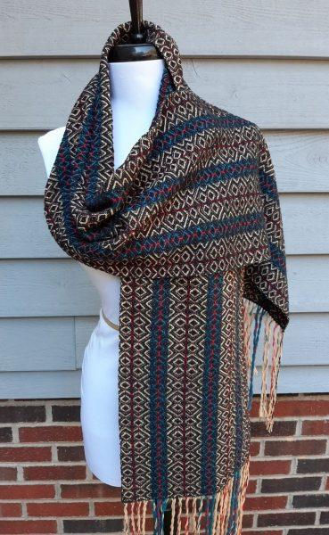 Carol Patton's stash scarf