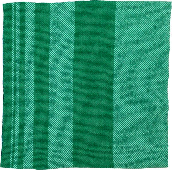 Fibonacci gradient napkin, woven on a rigid heddle loom