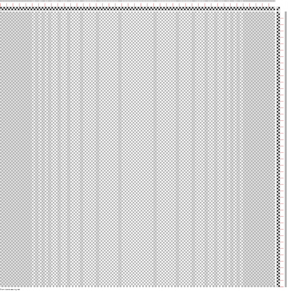 draft showing a curved gradient in white and light gray