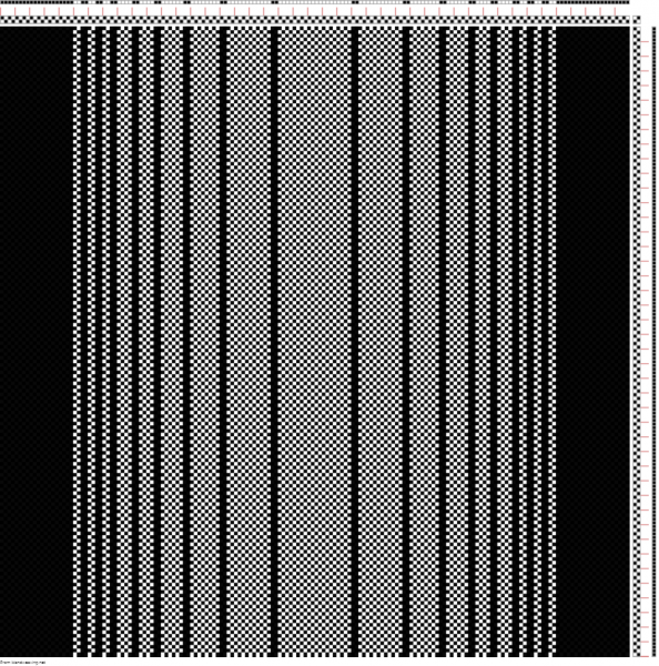 curved gradient using a black and white warp